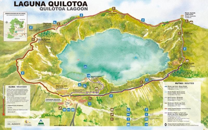 quilotoa-hikking