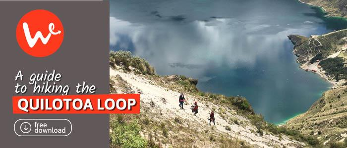 Circuito Quilotoa : Quilotoa loop all you need to know about the trek wanderbus ecuador