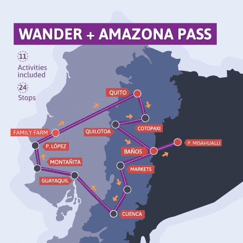 Wander pass + Amazona