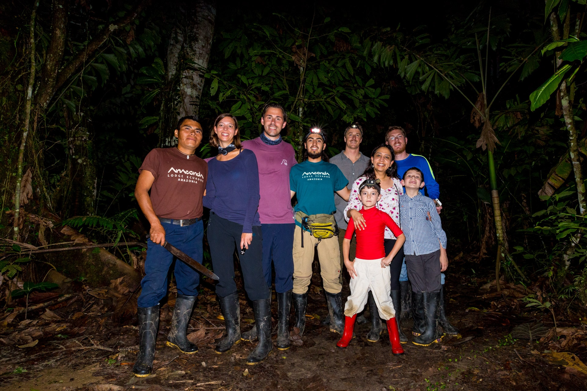 Ecuador Amazon rainforest with kids
