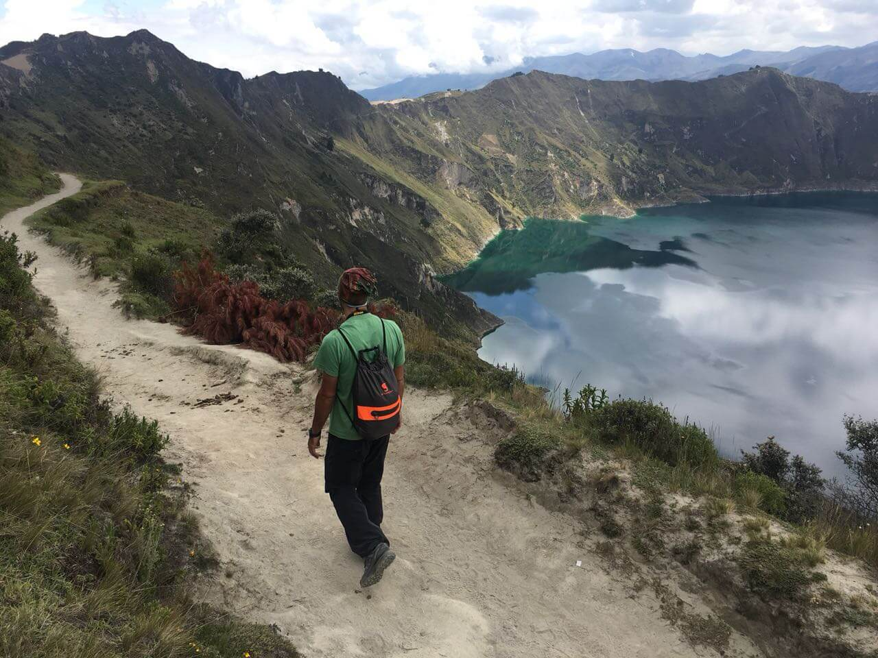 How to go from Quito to Quilotoa?