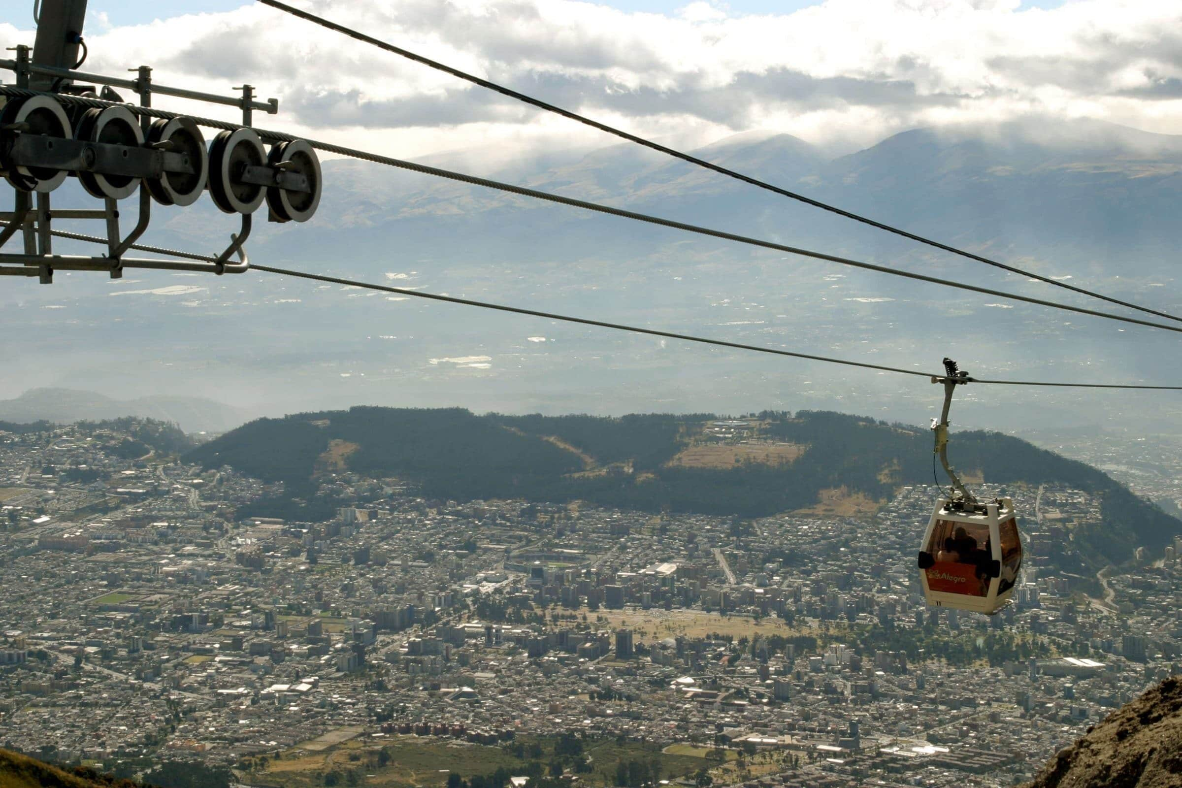 Female solo travel in Quito