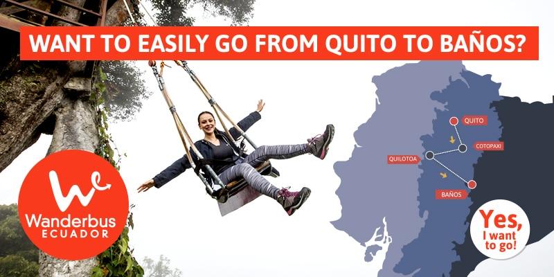 Quito to Baños