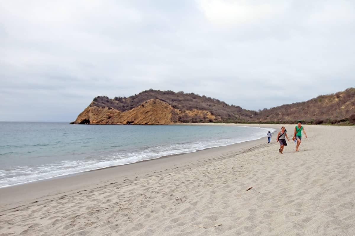 Tour to Los Frailes Beach