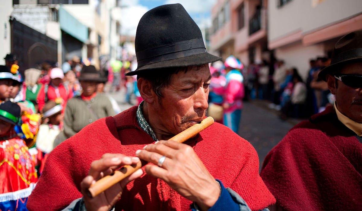 Ecuador traditions, an important part of our heritage