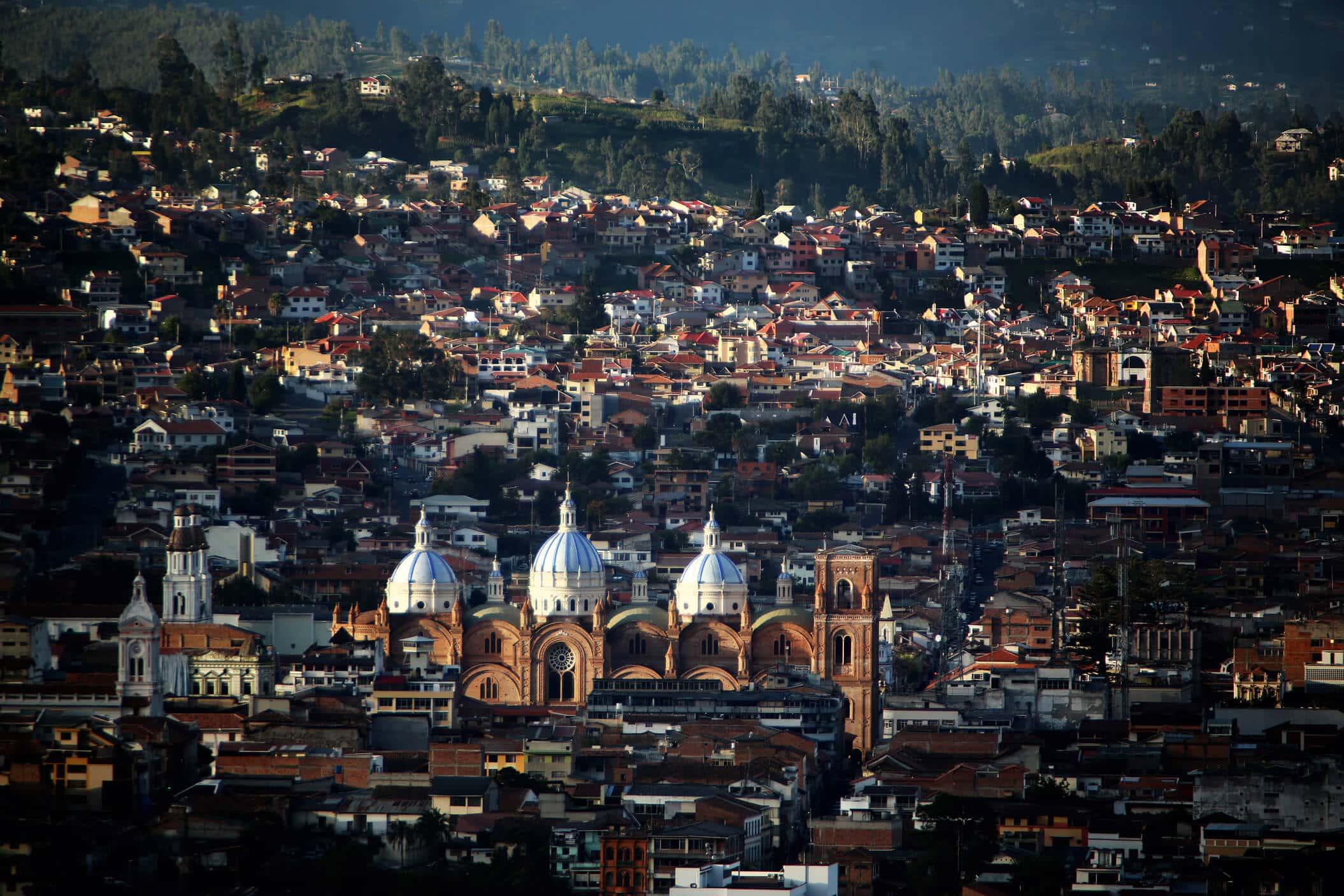 Tour a pie por Cuenca