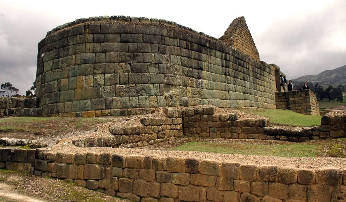 Inca Ruins in Ecuador