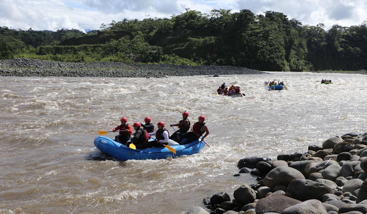 Rafting en El Puyo